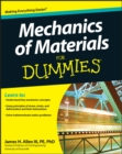 Mechanics of Materials For Dummies - Book