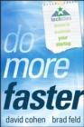 Do More Faster : TechStars Lessons to Accelerate Your Startup - eBook