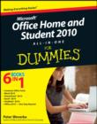 Office Home and Student 2010 All-in-One For Dummies - eBook