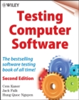Testing Computer Software - Book