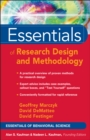 Essentials of Research Design and Methodology - eBook