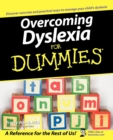 Overcoming Dyslexia For Dummies - Book