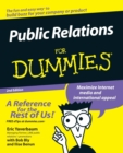 Public Relations For Dummies - Book