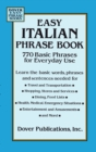 Easy Italian Phrase Book - eBook