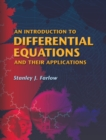 An Introduction to Differential Equations and Their Applications - eBook