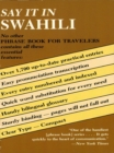 Say It in Swahili - eBook