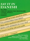 Say It in Danish - eBook