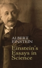 Einstein's Essays in Science - eBook