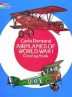 Airplanes of World War I Coloring Book - Book