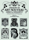 Treasury of Art Nouveau Design & Ornament - Book