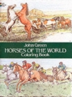 Horses of the World Colouring Book - Book
