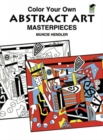 Colour Your Own Abstract Art - Book