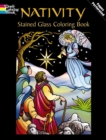Nativity Stained Glass Coloring Book - Book