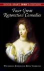 Four Great Restoration Comedies - Book