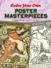Color Your Own Poster Masterpieces - Book