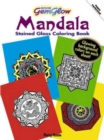 Gemglow Stained Glass Coloring Book : Mandala - Book