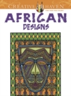 Creative Haven African Designs Coloring Book - Book