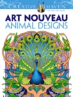 Creative Haven Art Nouveau Animal Designs Coloring Book - Book