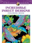 Creative Haven Incredible Insect Designs Coloring Book - Book