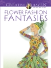 Creative Haven Flower Fashion Fantasies - Book