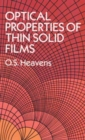 The Optical Properties of Thin Solid Films - Book
