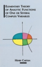 The Elementary Theory of Analytic Functions of One or Several Complex Variables - Book
