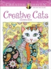 Creative Haven Creative Cats Coloring Book - Book