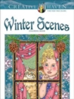 Creative Haven Winter Scenes Coloring Book - Book