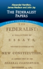 The Federalist Papers - eBook