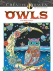 Creative Haven Owls Coloring Book - Book