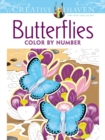 Creative Haven Butterflies Color by Number Coloring Book - Book