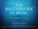 The Masterwork in Music: Volume I, 1925 - eBook