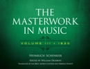 The Masterwork in Music: Volume III, 1930 - eBook