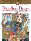 Creative Haven Dazzling Dogs Coloring Book - Book