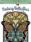 Creative Haven Fantasy Butterflies Coloring Book - Book