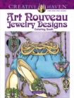 Creative Haven Art Nouveau Jewelry Designs Coloring Book - Book