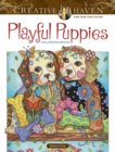Creative Haven Playful Puppies Coloring Book (working title) - Book