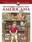 Creative Haven The Saturday Evening Post Americana Coloring Book - Book
