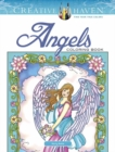Creative Haven Angels Coloring Book - Book