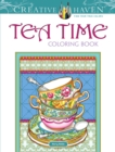 Creative Haven Teatime Coloring Book - Book
