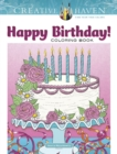 Creative Haven Happy Birthday! Coloring Book - Book