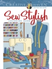 Creative Haven Sew Stylish Coloring Book - Book