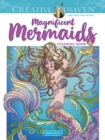 Creative Haven Magnificent Mermaids Coloring Book - Book