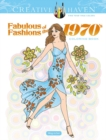 Creative Haven Fabulous Fashions of the 1970s Coloring Book - Book