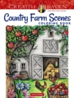 Creative Haven Country Farm Scenes Coloring Book - Book