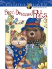 Creative Haven Best-Dressed Pets Coloring Book - Book