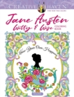 Creative Haven Jane Austen Witty & Wise Coloring Book - Book