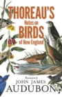 Thoreau's Notes on Birds of New England - eBook