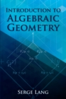 Introduction to Algebraic Geometry - eBook