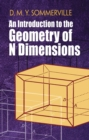 Introduction to the Geometry of N Dimensions - Book